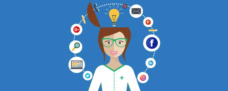 redes sociales para farmacia