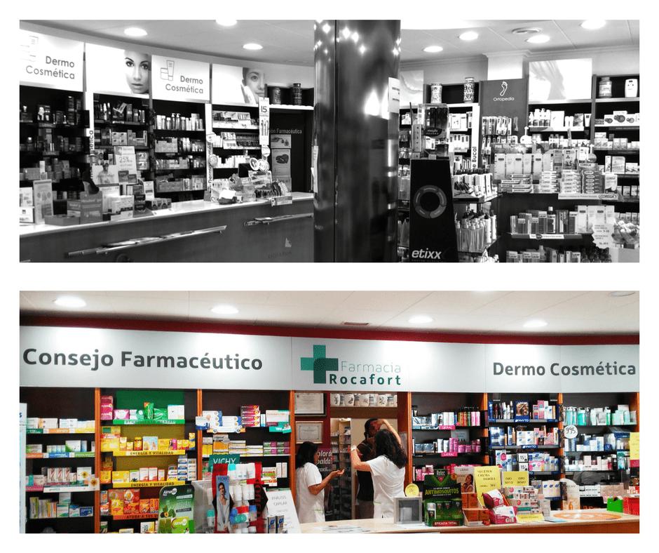 interiorismo farmacia