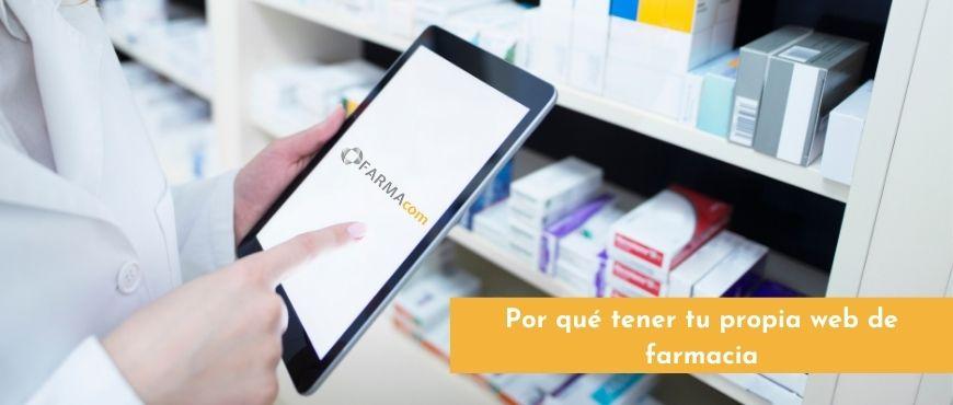 página web de farmacia